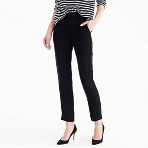 NWT $89. J CREW Pull-on easy pant matte crepe